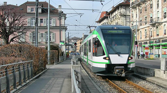 Tram-Train Lausanne-Echallens-Bercher